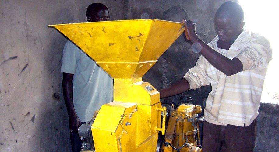 Adquisició d'un molí amb motor per moldre el gra