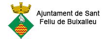 Logo Ajuntament Sant Feliu de Buixelleu