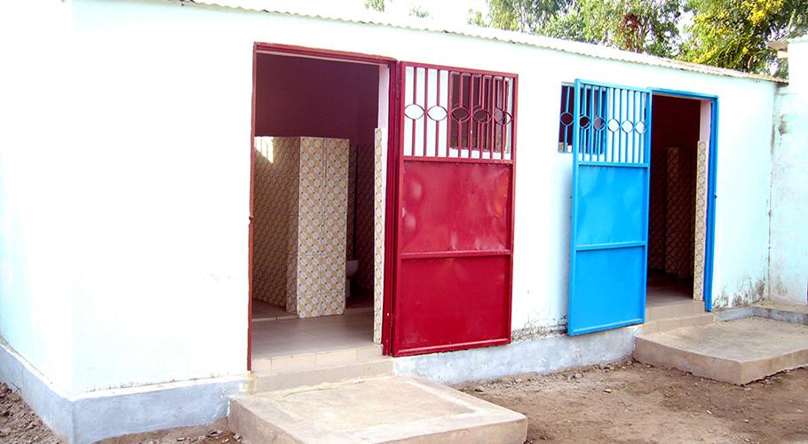 Finançament per l'arranjament dels lavabos de l'escola maternal de la missió